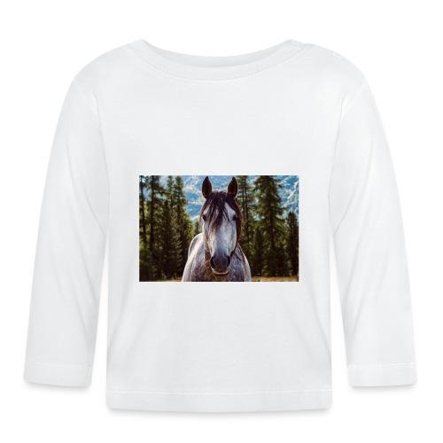 Nature Horse by #CreativeArts - Baby Langarmshirt