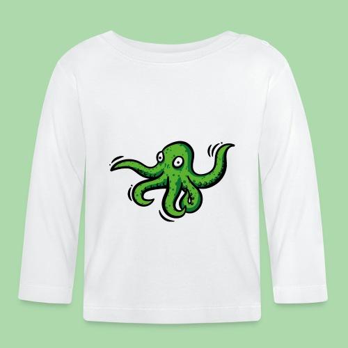 Alien Oktopus - Baby Langarmshirt