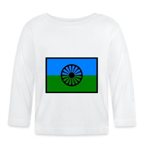 romaniflaga - Långärmad T-shirt baby