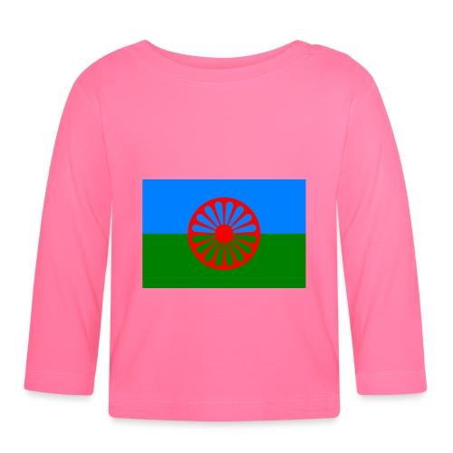 Flag of the Romani people - Långärmad T-shirt baby