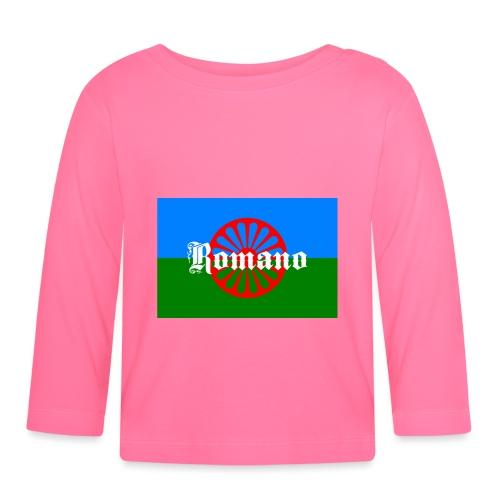 Flag of the Romanilenny people svg - Långärmad T-shirt baby