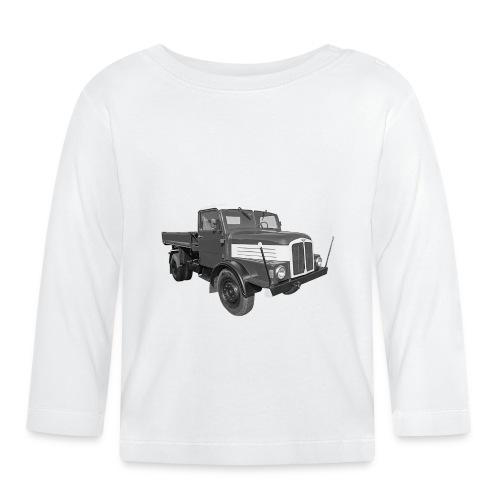 Lkw IFA S 4000 Kipper Werdau DDR Oldtimer - Baby Langarmshirt