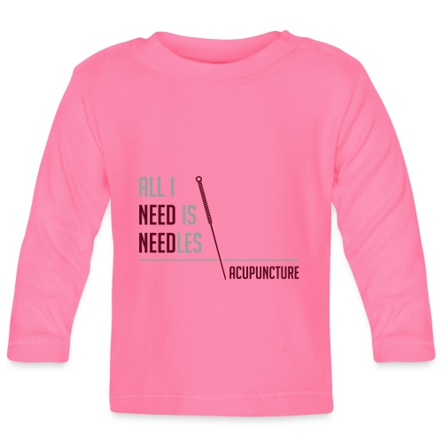 All I need is needles - T-shirt manches longues Bébé