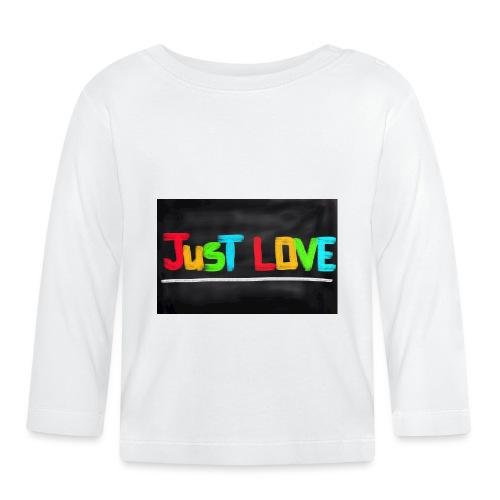 Just love tasse - T-shirt manches longues Bébé