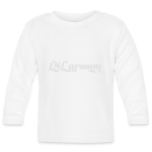 L8Larsson-logo - Långärmad T-shirt baby