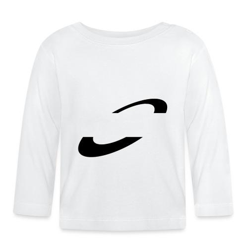 Planet Cycling Icon Black - Baby Long Sleeve T-Shirt
