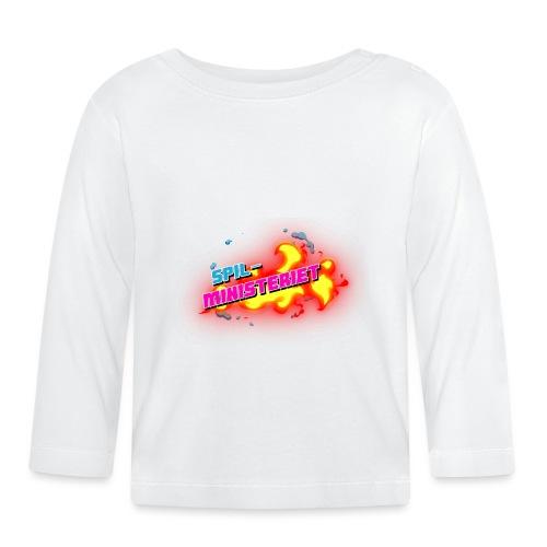 Spilministeriet - Langærmet babyshirt