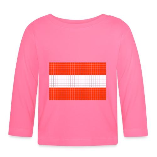 austrian flag - Maglietta a manica lunga per bambini