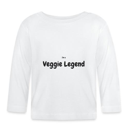 I'm a Veggie Legend - Baby Long Sleeve T-Shirt