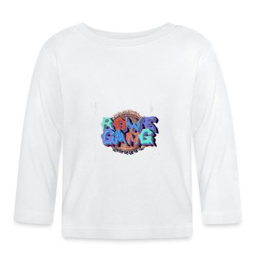 RoweGang Basic Logo - Vauvan pitkähihainen paita