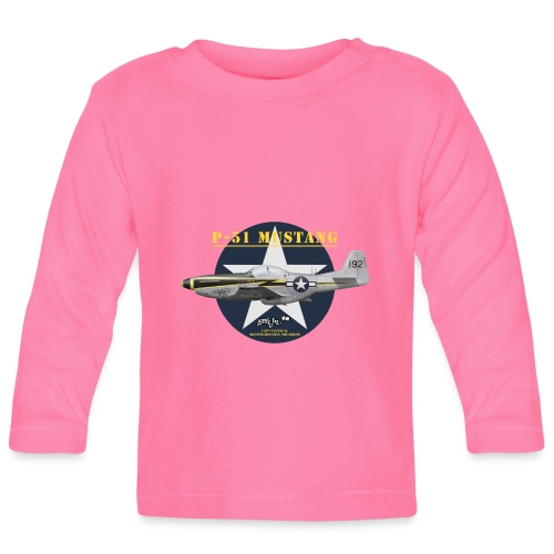 P-51 Little Joe - Baby Long Sleeve T-Shirt