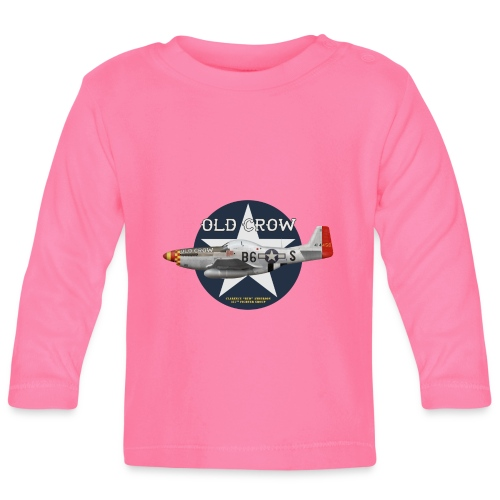 P-51 Old Crow - Baby Long Sleeve T-Shirt