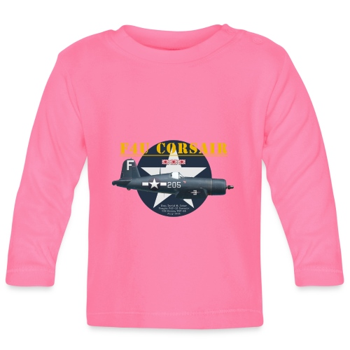 F4U Jeter VBF-83 - Baby Long Sleeve T-Shirt