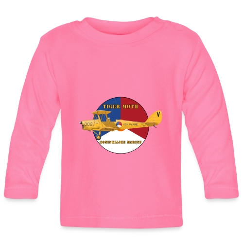 Tiger Moth Kon Marine - Baby Long Sleeve T-Shirt