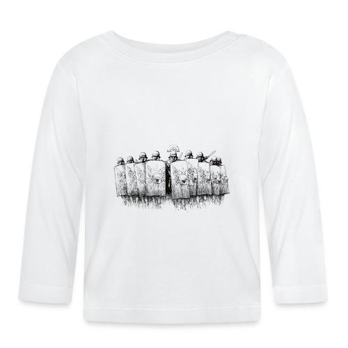 Legion (czarno-biały) | Legio (black-white) - Koszulka niemowlęca z długim rękawem