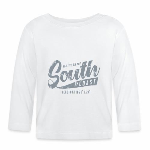 ETELÄRANNIKKO, SOUTH COAST HELSINKI COOL T-SHIRTS - Vauvan pitkähihainen paita