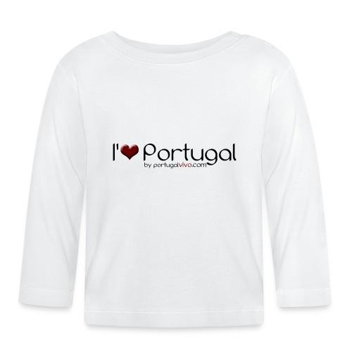 I Love Pt - T-shirt manches longues Bébé