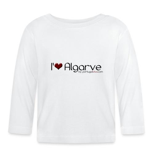 I Love Algarve - T-shirt manches longues Bébé