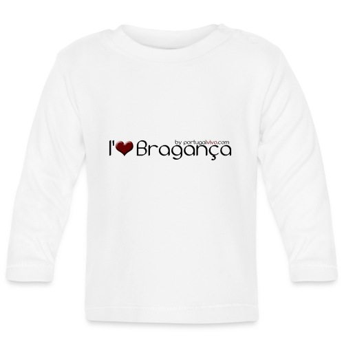 I Love Bragança - T-shirt manches longues Bébé