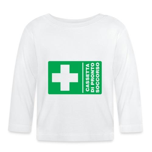 cartello png - Maglietta a manica lunga per bambini