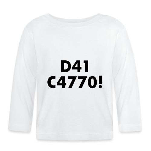 D41 C4770! tradotto: DAI CAZZO! - Maglietta a manica lunga per bambini