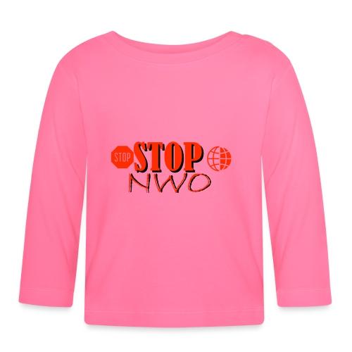 STOPNWO1 - Koszulka niemowlęca z długim rękawem