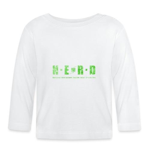 NERD Green - Langærmet babyshirt