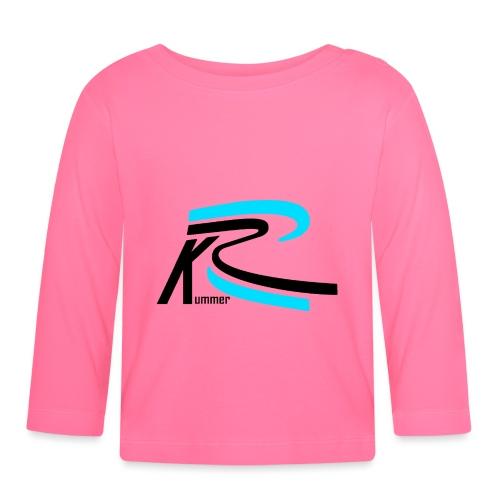 Roland Kummer Logo Schwarz - Baby Langarmshirt