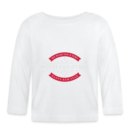We whish you 1 - T-shirt manches longues Bébé