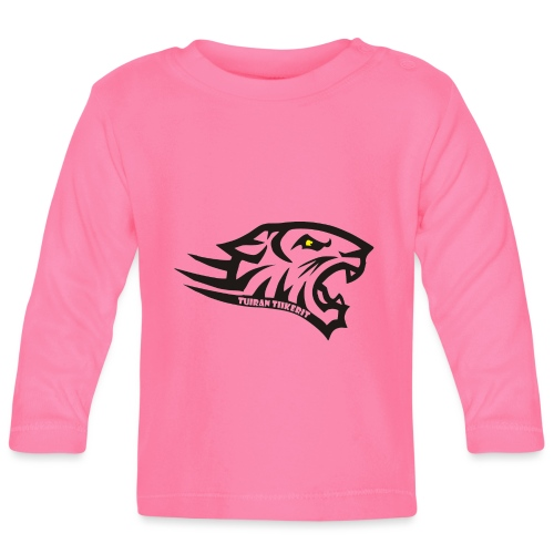 Tuiran Tiikerit tuoteperhe, pieni logo - Vauvan pitkähihainen paita