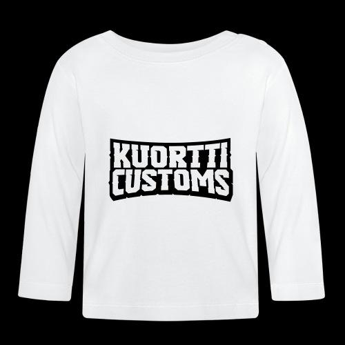 kuortti_customs_logo_main - Vauvan pitkähihainen paita