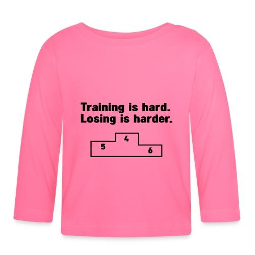 Training vs losing - Baby Long Sleeve T-Shirt