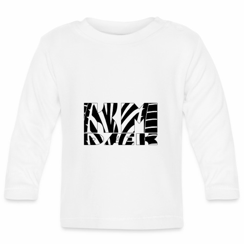 KM_black - Langærmet babyshirt