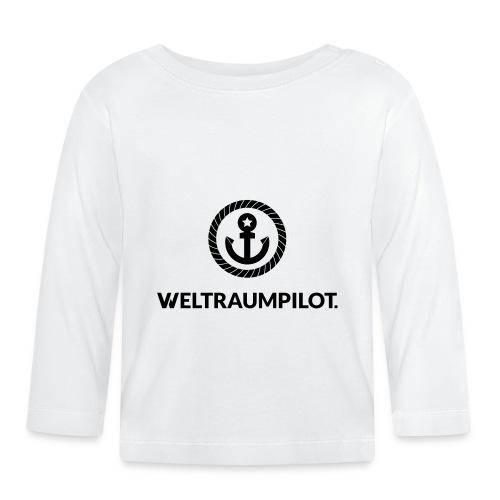 weltraumpilot - Baby Langarmshirt