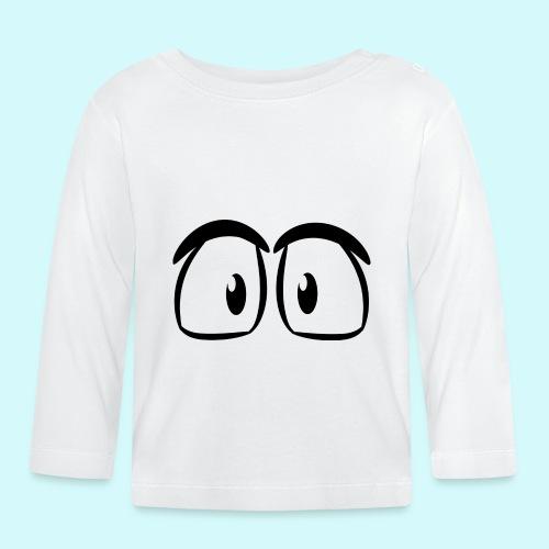Comic Augen - Baby Langarmshirt
