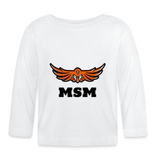 MSM EAGLE - Langærmet babyshirt