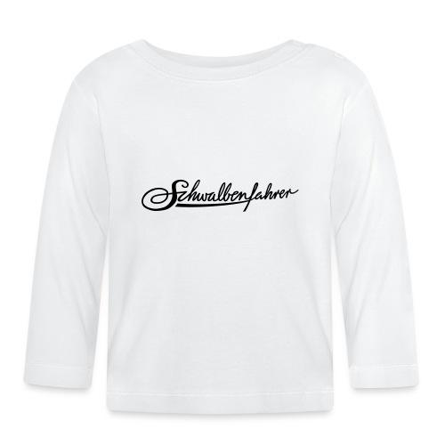 Schwalbenfahrer-Tasche - Baby Langarmshirt