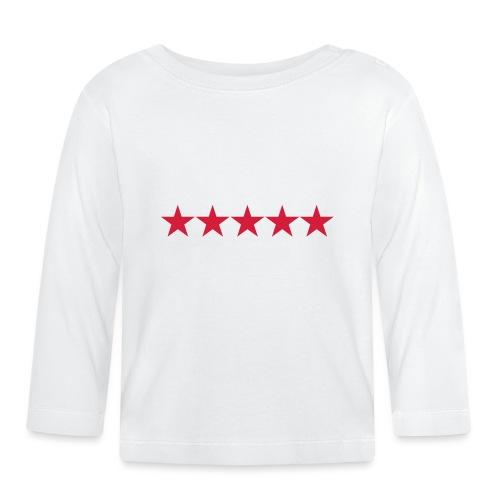 Rating stars - Vauvan pitkähihainen paita