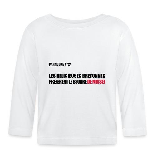 PARADOXE religieuse - T-shirt manches longues Bébé
