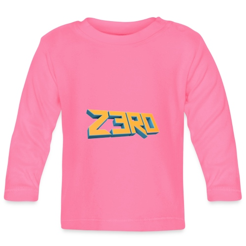 The Z3R0 Shirt - Baby Long Sleeve T-Shirt