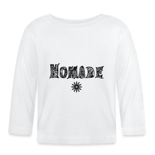 Nomade (en noir) - T-shirt manches longues Bébé
