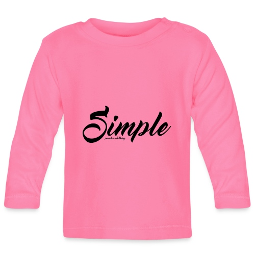 Simple: Clothing Design - Baby Long Sleeve T-Shirt