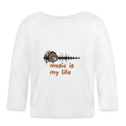 Music is my Life - Maglietta a manica lunga per bambini