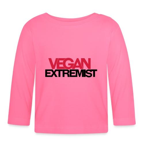 Vegan Extremist - T-shirt manches longues Bébé