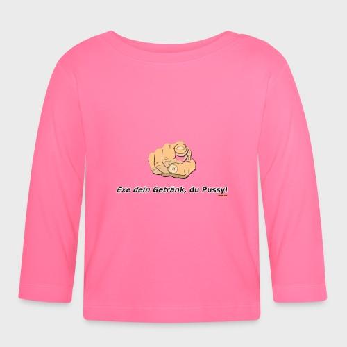 Exe dein Getränk - Baby Langarmshirt