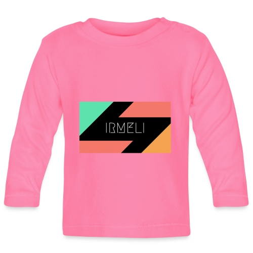 Irmelis Logo glothes - Vauvan pitkähihainen paita