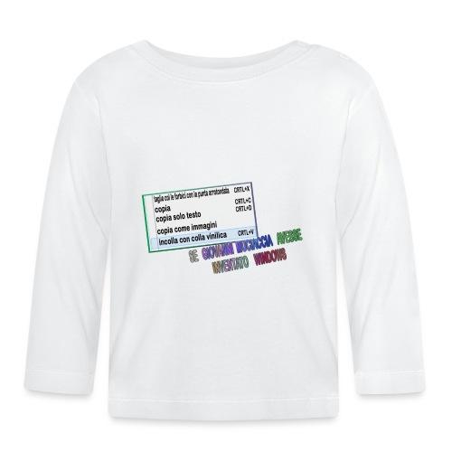 MUCIACCIA - Maglietta a manica lunga per bambini
