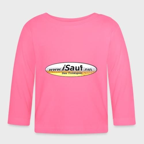 iSauf Logo - Baby Langarmshirt