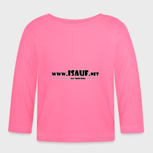 iSauf Logo 3 - Baby Langarmshirt