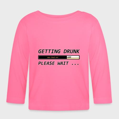 Getting Drunk - Baby Langarmshirt